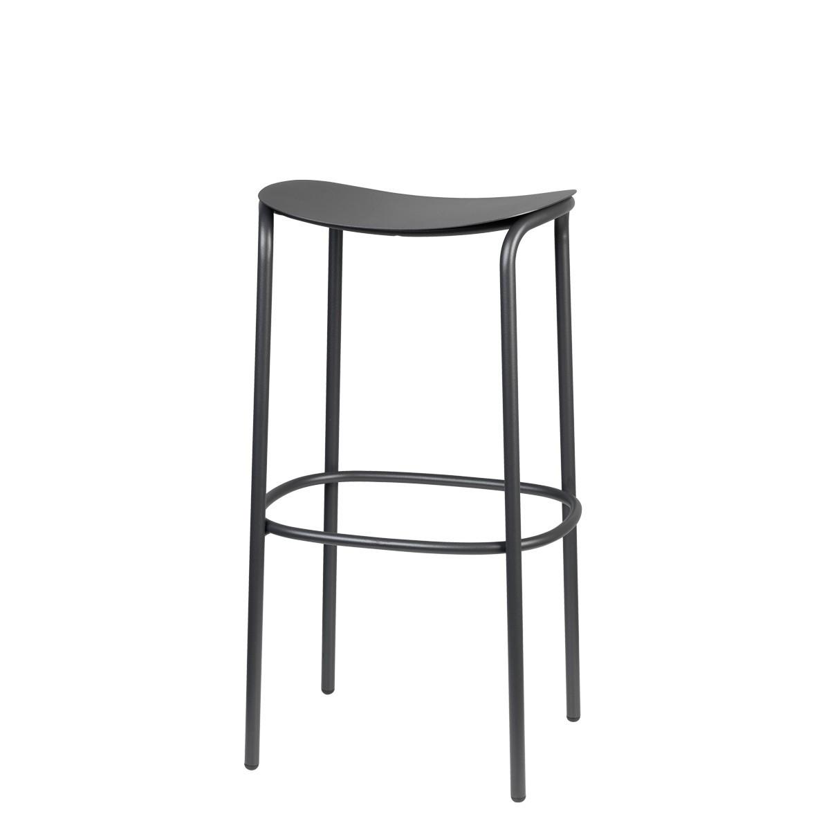 Барний стілець  TRICK SCAB h75см antracite