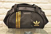Спортивная сумка Adidas модель M-530.(черный+золото). ХИТ ПРОДАЖ!!! Отличное качество - лучшая цена!