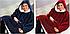 Плед толстовка Huggle с капюшоном Ultra Plush Blanket Hoodie, фото 3