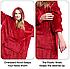 Плед толстовка Huggle с капюшоном Ultra Plush Blanket Hoodie, фото 4