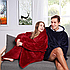Плед толстовка Huggle с капюшоном Ultra Plush Blanket Hoodie, фото 8