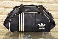 Спортивная сумка Adidas модель M-530. (Синий+белый) .ХИТ ПРОДАЖ!!! Отличное качество - лучшая цена!