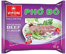 Вьетнамская лапша быстрого приготовления Pho Bo с телятиной Vifon 65g