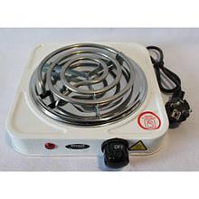 Электроплита кухонная спиральная Wimpex WX 100 B HP 1000 Вт одноконфорочная электроплита