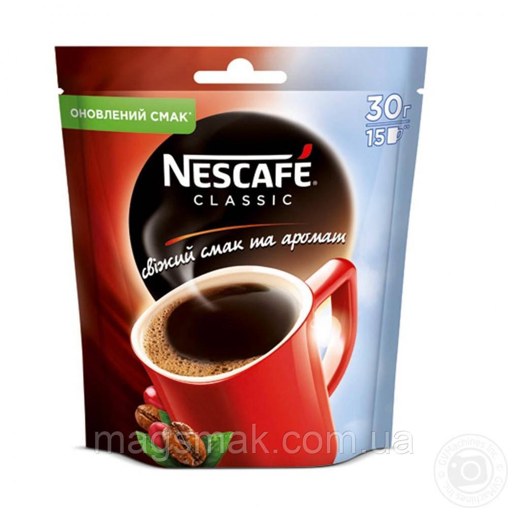 Кофе Nescafe Classic (Нескафе), 30 г