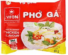 Вьетнамская лапша быстрого приготовления Pho Ga с курицей Vifon 65g