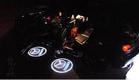 Подсветка дверей автомобиля, проекция логотипа Mazda