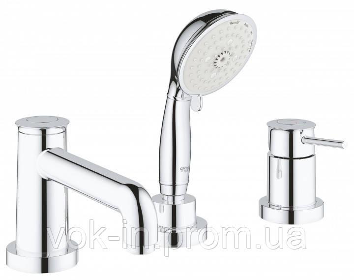 Grohe BauClassic Комплект для ванни на 3 отвори (2511800A)