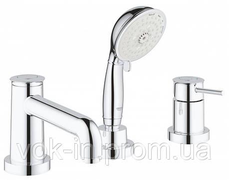 Grohe BauClassic Комплект для ванни на 3 отвори (2511800A), фото 2