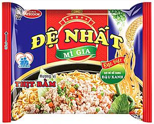 В'єтнамська локшина швидкого приготування De Nhat Mi Gia 83г (В'єтнам), фото 2