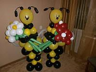 Оформление праздников пчелы из шаров
