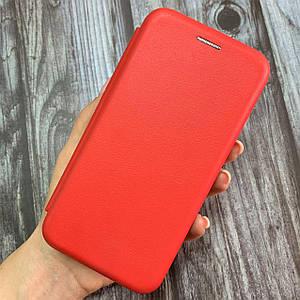 Чехол-книга для Samsung Galaxy S7 подставка место под карту чохол книжка на самсунг с7 красная