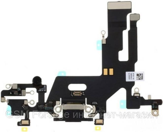 """Шлейф iPhone 11 (6.1"""") Charge complete Black"""