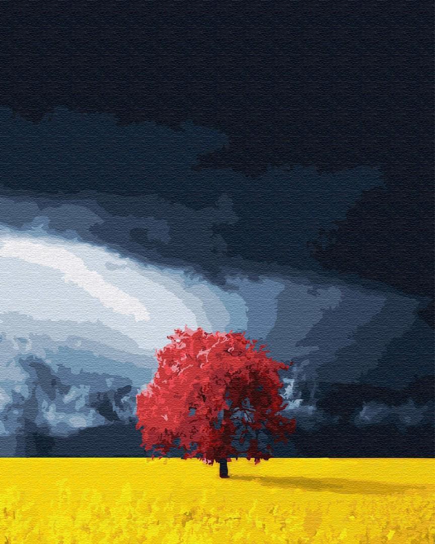 Картина за номерами Поле перед грозой GX28666 40х50см набір для розпису, фарби та пензлі набір для розпису,
