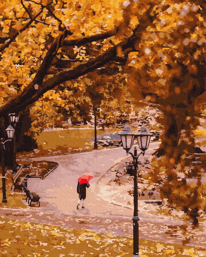 Картина за номерами Осень в парке GX25398 40х50см набір для розпису, фарби та пензлі набір для розпису, фарби