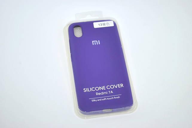 Чехол Xiaomi Redmi 8A Silicon Original FULL №13 Violet (4you), фото 2