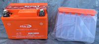 АКБ аккумулятор 12v4ah заливной  оранжевый