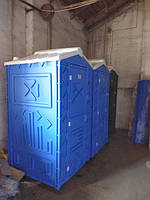 Биотуалет кабина  для дачи под выгребную яму