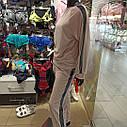 Костюм жіночий кофта та штани мерехтливої кольору, тканина - мікро велюр. XL, фото 3