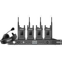 Интерком-система Hollyland Syscom 1000T-4B Full-Duplex Intercom System with Four Beltpacks (SYSCOM-1000T-4B)