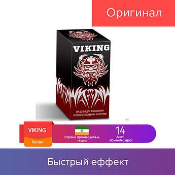 30 мл. Капли VIKING для повышения уровня тестостерона