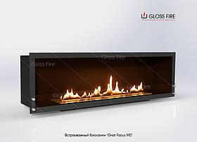 Встраиваемый биокамин в Очаге Focus MS-001 GlossFire камин для квартиры, ресторана, кафе