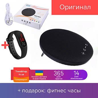 6 W Портативна Bluetooth колонка VIP Model HDY-001 бездротова акумуляторна блютуз колонка, чорний 6 Вт