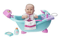 Новинка ! ПупсJC TOYS с мультифункциональной ванной  JC TOYS LOTS TO LOVE BABY DOLL
