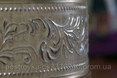 Лента декоративная на карниз, бленда Оригинал 433 Крем 70 мм на усиленный потолочный карниз КСМ
