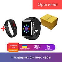 Умные наручные часы Smart Watch A1 смарт часы, часы-телефон с камерой, фитнес трекер