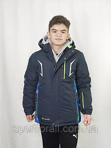 Спортивная зимняя куртка термо подростковая Col  р.46,48 М-12