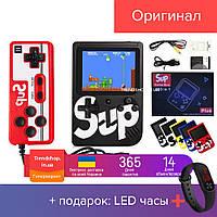 Игровая приставка портативная GAME BOX SUP 400 в 1, ретро консоль, SEGA, Dendy, 8 бит + джойстик