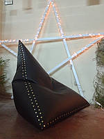 Кресло мешок черный Авиатор