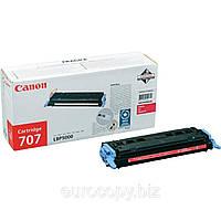 Тонер-картридж Canon 707 LBP-5000 ресурс 2 000 стор.@5% (А4) Magenta (9422A004) Original