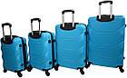 Набор дорожных чемоданов на колесах Bonro 2019 4 шт комплект, фото 4