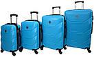 Набор дорожных чемоданов на колесах Bonro 2019 4 шт комплект, фото 3