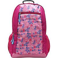 Рюкзак Dr. Kong Z247/970 206 L ортопедическая спинка 4 отделения 2 кармана розовый