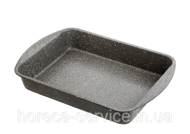 Форма антипригарная прямоугольная с гранитовым напылением 460*300*70 мм (шт)