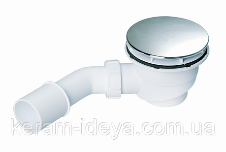 Сифон для поддона McAlpine HC27-CPBN-PB, фото 2