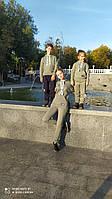Детский теплый спортивный костюм для девочки и мальчика, фото 1