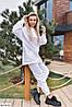 Женский модный тёплый оверсайз костюм в красивых расцветках, фото 2