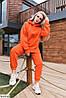 Женский модный тёплый оверсайз костюм в красивых расцветках, фото 5