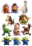 Вафельна картинка Історія іграшок | Їстівні картинки Toy Story | Історія іграшок картинки різні Формат А4, фото 2