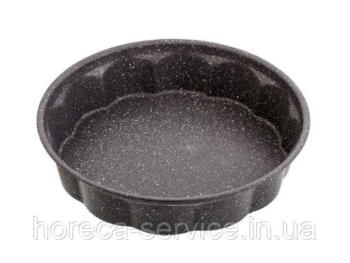 Форма антипригарная круглая с гранитовым напылением Ø 275 мм;H 60 мм (шт)
