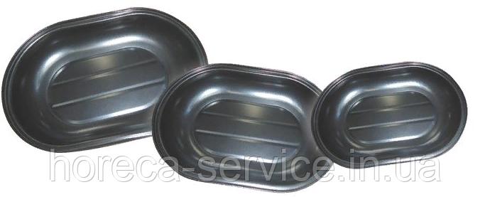 Форма антипригарная овальная (набор 3 шт)
