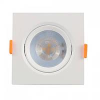 Светильник светодиодный точечный врезной Horoz Electric Maya-5 LED 5Вт 400Лм 6400К холодный свет, фото 1