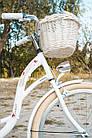 Велосипед VANESSA Vintage 26 White Польща, фото 6