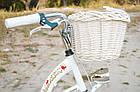Велосипед VANESSA Vintage 26 White Польща, фото 9
