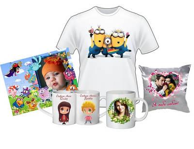 Печать вашего фото на чашках,футболках,пазлах,подушках,ковриках,тарелках,ручках