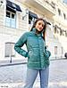 Женская модная осенняя теплая короткая куртка, фото 5